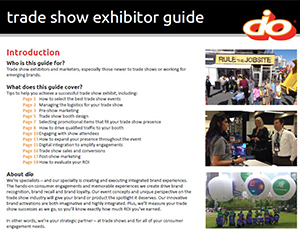Trade Show Exhibitor Guide