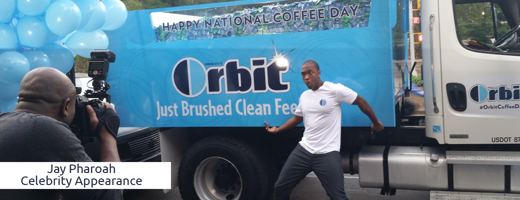 Jay Pharoah and Orbit Gum
