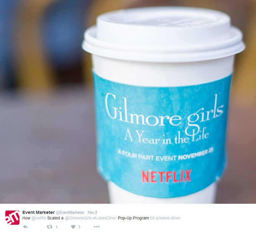 Gilmore Girls Experiential Marketing