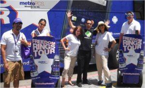 mobile tour staff