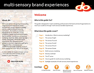 Guide to Multi-Sensory Brand Experiences