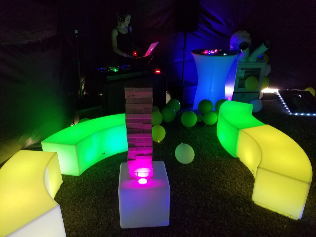 Pop-Up Glow Lounge