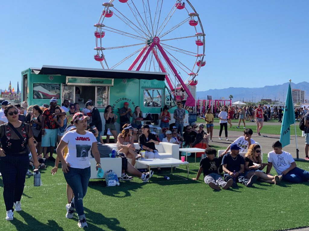 Brand Activation at iHeartRadio Music Festival